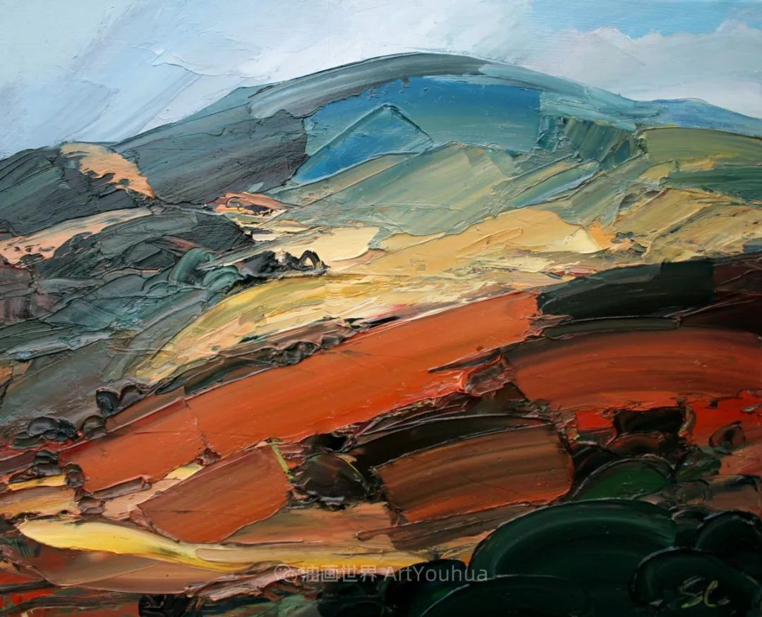 色块分明的风景画,富有表现力的厚涂画法!插图26