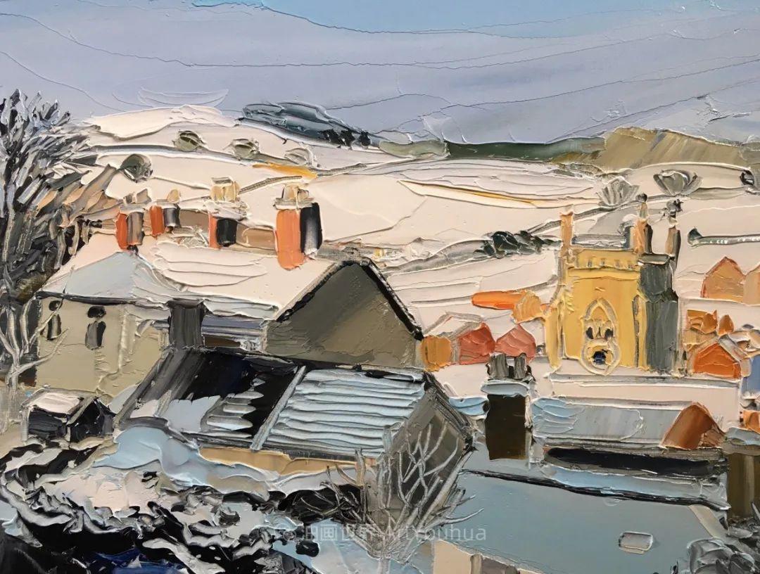 色块分明的风景画,富有表现力的厚涂画法!插图30