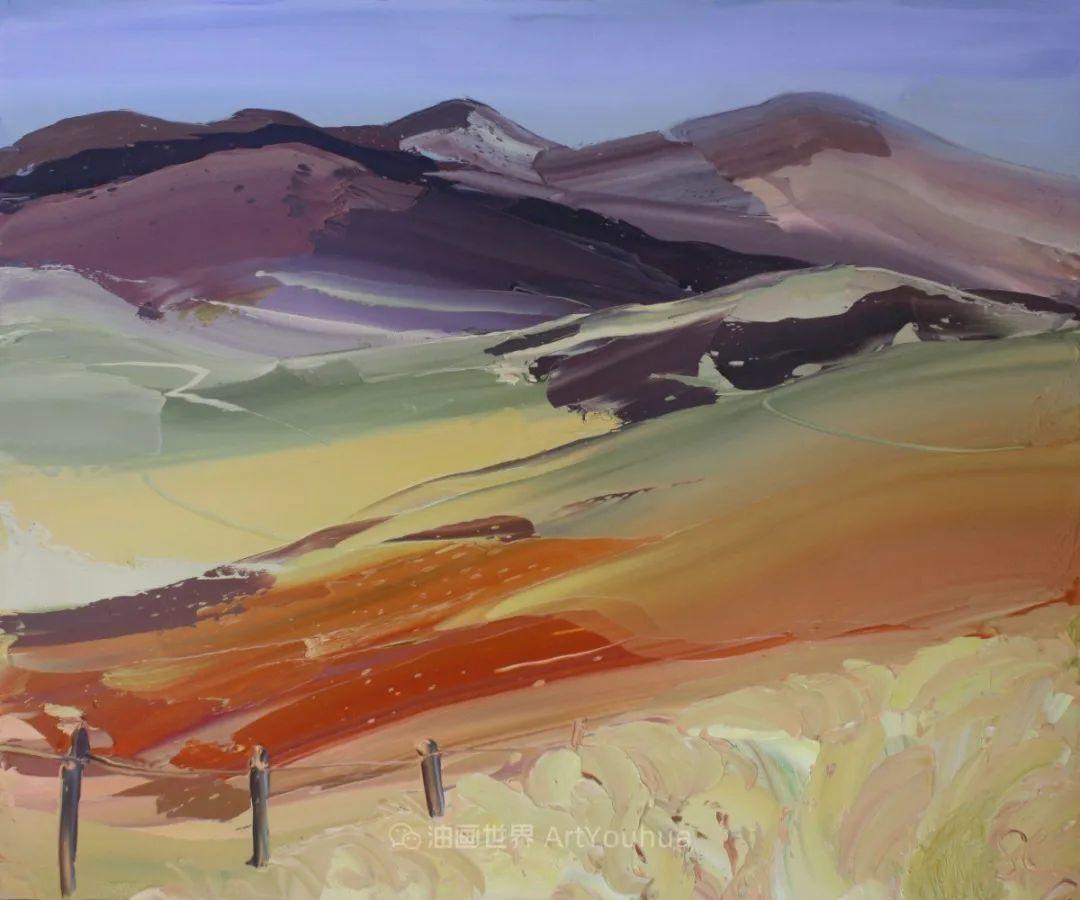 色块分明的风景画,富有表现力的厚涂画法!插图31