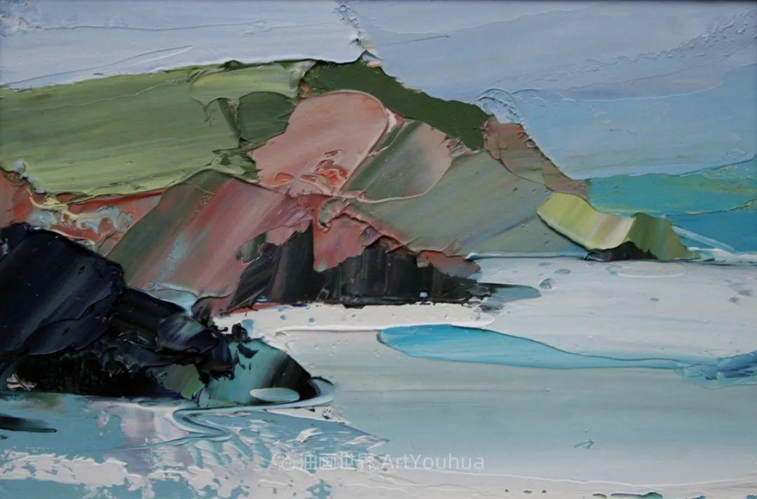 色块分明的风景画,富有表现力的厚涂画法!插图35