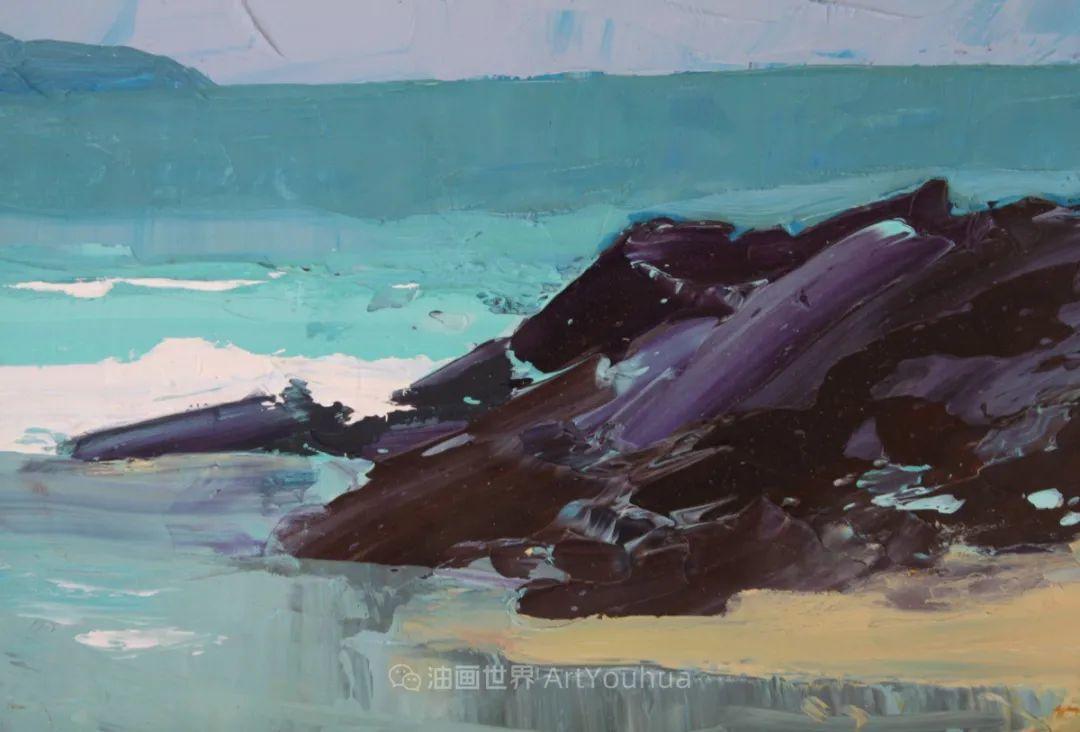 色块分明的风景画,富有表现力的厚涂画法!插图38
