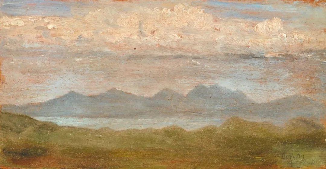 风格独特,莫名的好看,意大利画家朱塞佩·德·尼蒂斯插图11