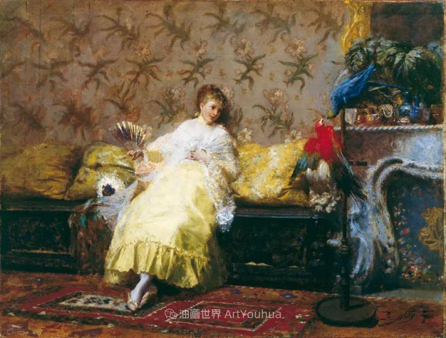 风格独特,莫名的好看,意大利画家朱塞佩·德·尼蒂斯插图15