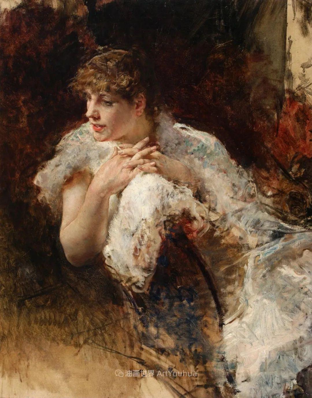 风格独特,莫名的好看,意大利画家朱塞佩·德·尼蒂斯插图17