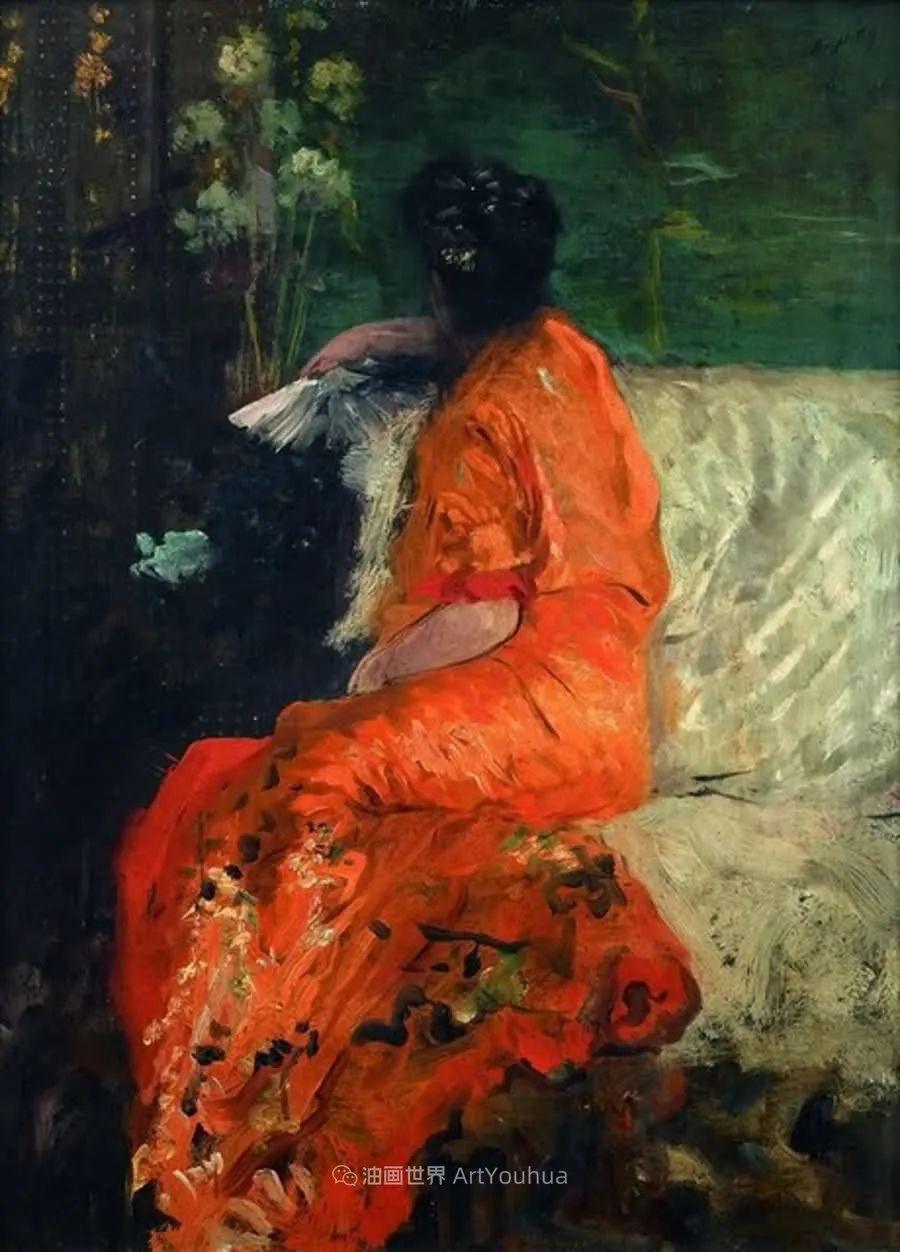风格独特,莫名的好看,意大利画家朱塞佩·德·尼蒂斯插图23