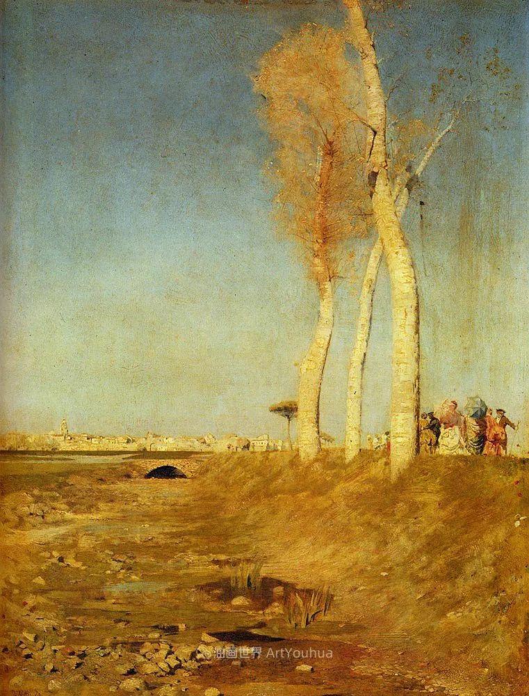 风格独特,莫名的好看,意大利画家朱塞佩·德·尼蒂斯插图35