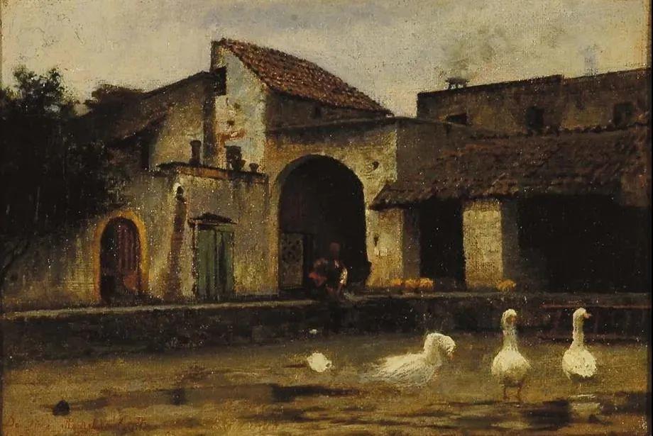 风格独特,莫名的好看,意大利画家朱塞佩·德·尼蒂斯插图37