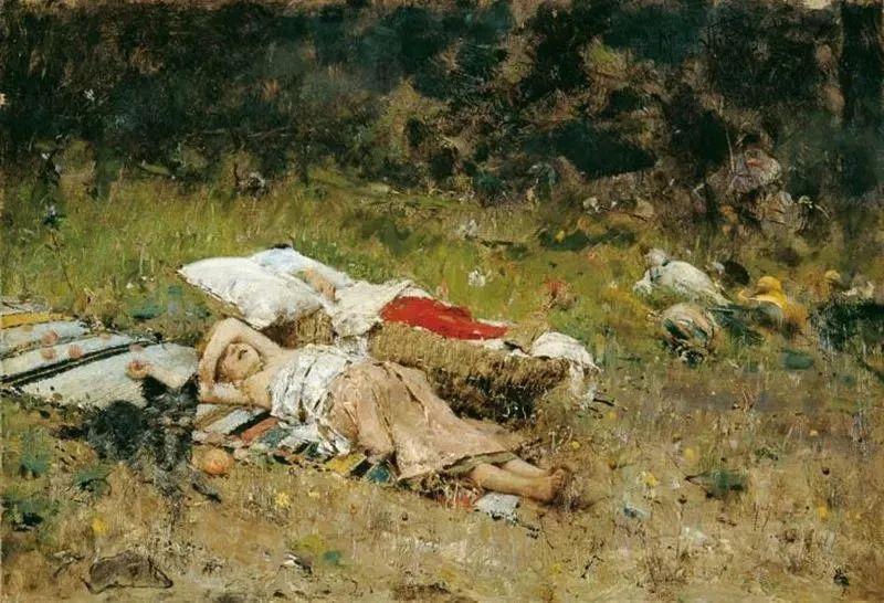 风格独特,莫名的好看,意大利画家朱塞佩·德·尼蒂斯插图39