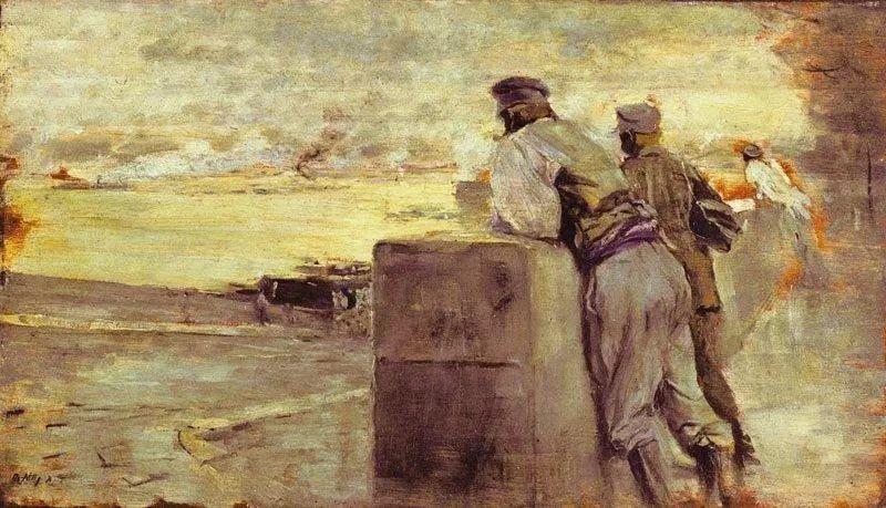 风格独特,莫名的好看,意大利画家朱塞佩·德·尼蒂斯插图43