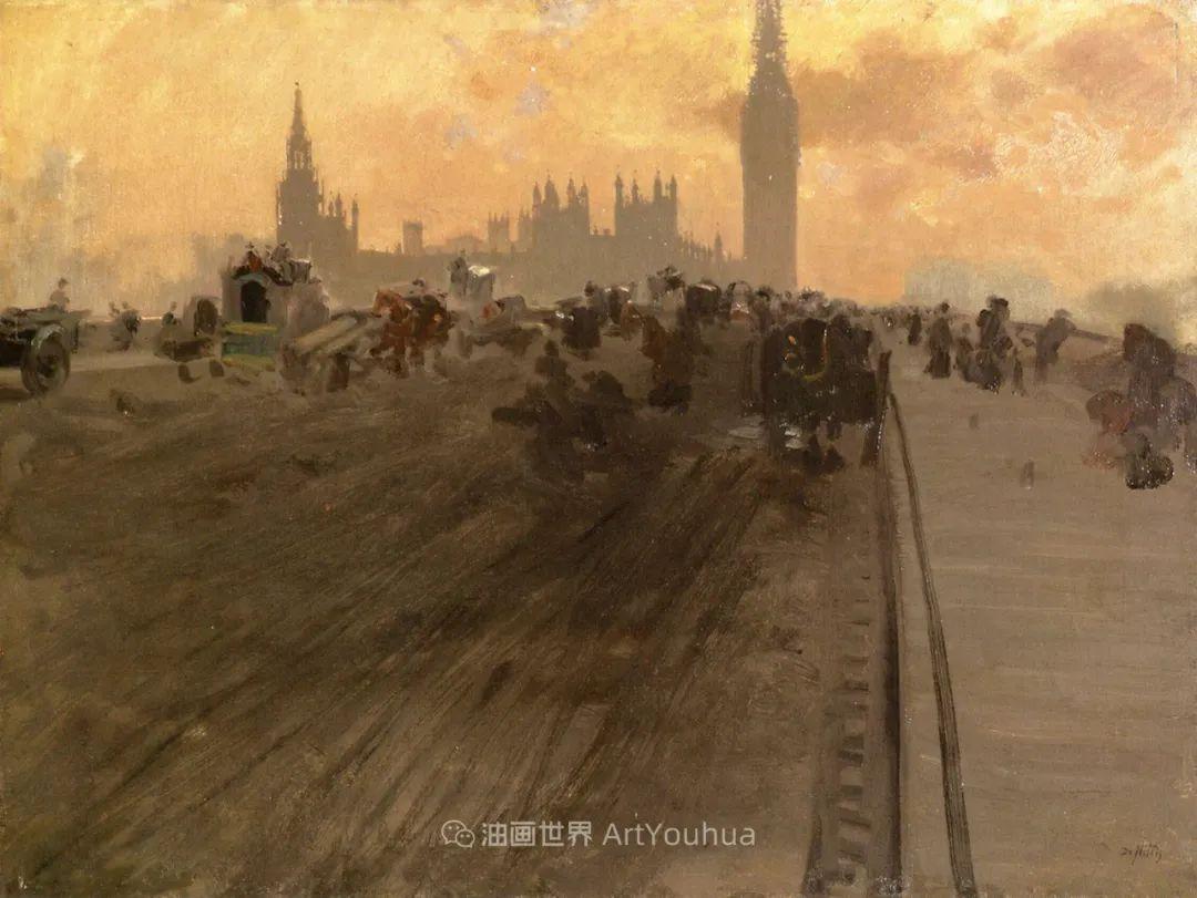 风格独特,莫名的好看,意大利画家朱塞佩·德·尼蒂斯插图49