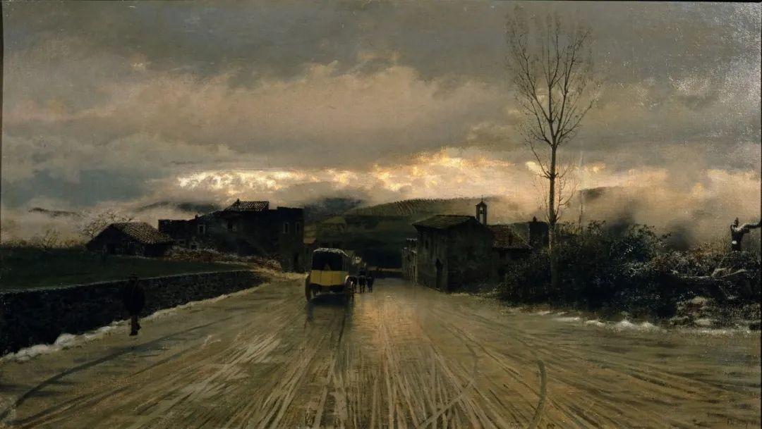 风格独特,莫名的好看,意大利画家朱塞佩·德·尼蒂斯插图57