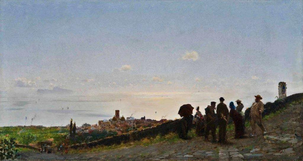 风格独特,莫名的好看,意大利画家朱塞佩·德·尼蒂斯插图61