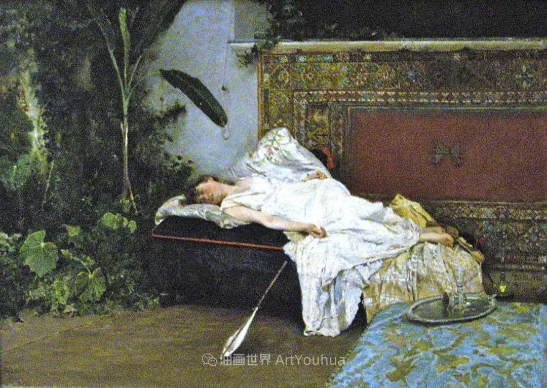 风格独特,莫名的好看,意大利画家朱塞佩·德·尼蒂斯插图67