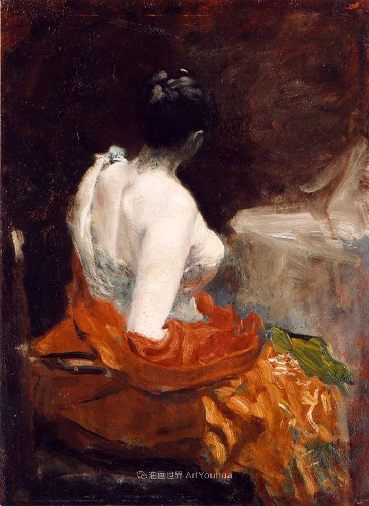 风格独特,莫名的好看,意大利画家朱塞佩·德·尼蒂斯插图69