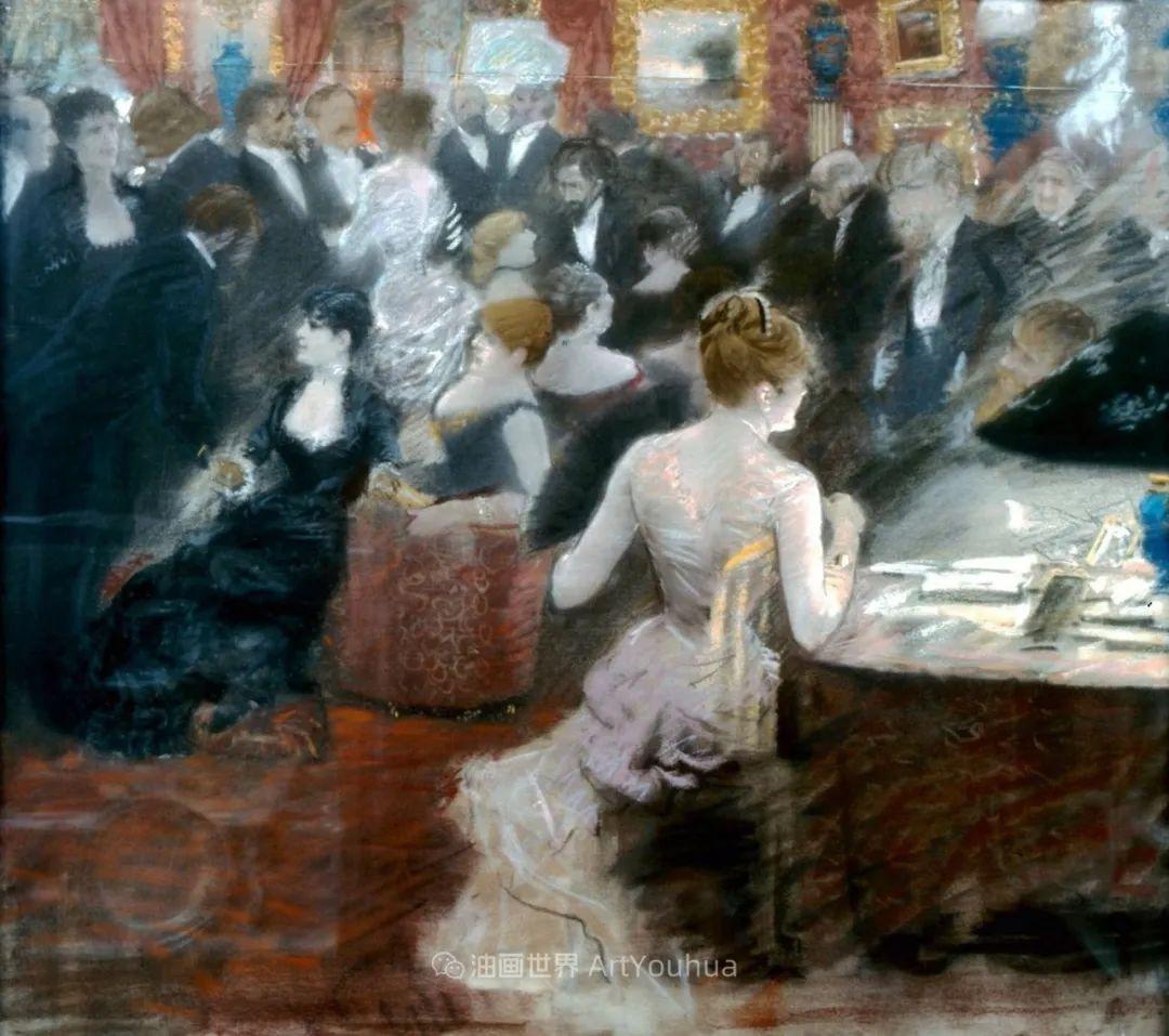 风格独特,莫名的好看,意大利画家朱塞佩·德·尼蒂斯插图83