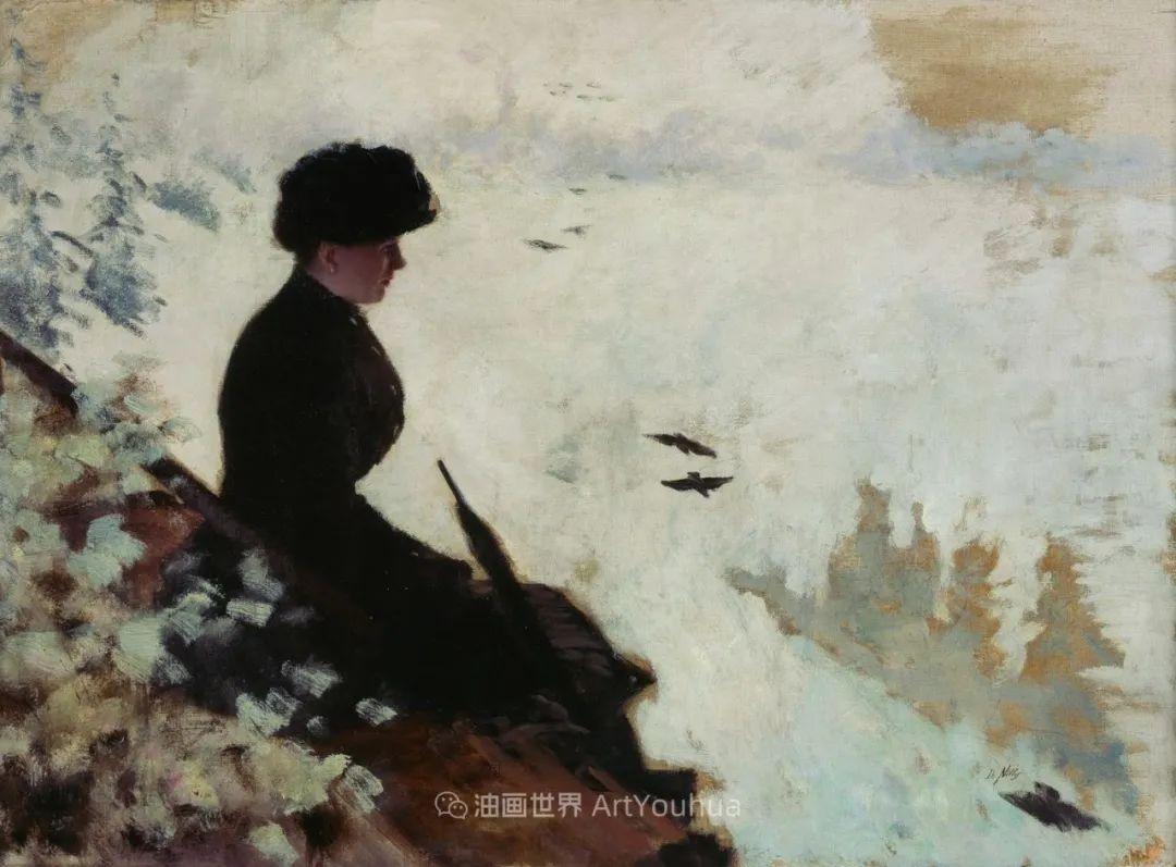 风格独特,莫名的好看,意大利画家朱塞佩·德·尼蒂斯插图85