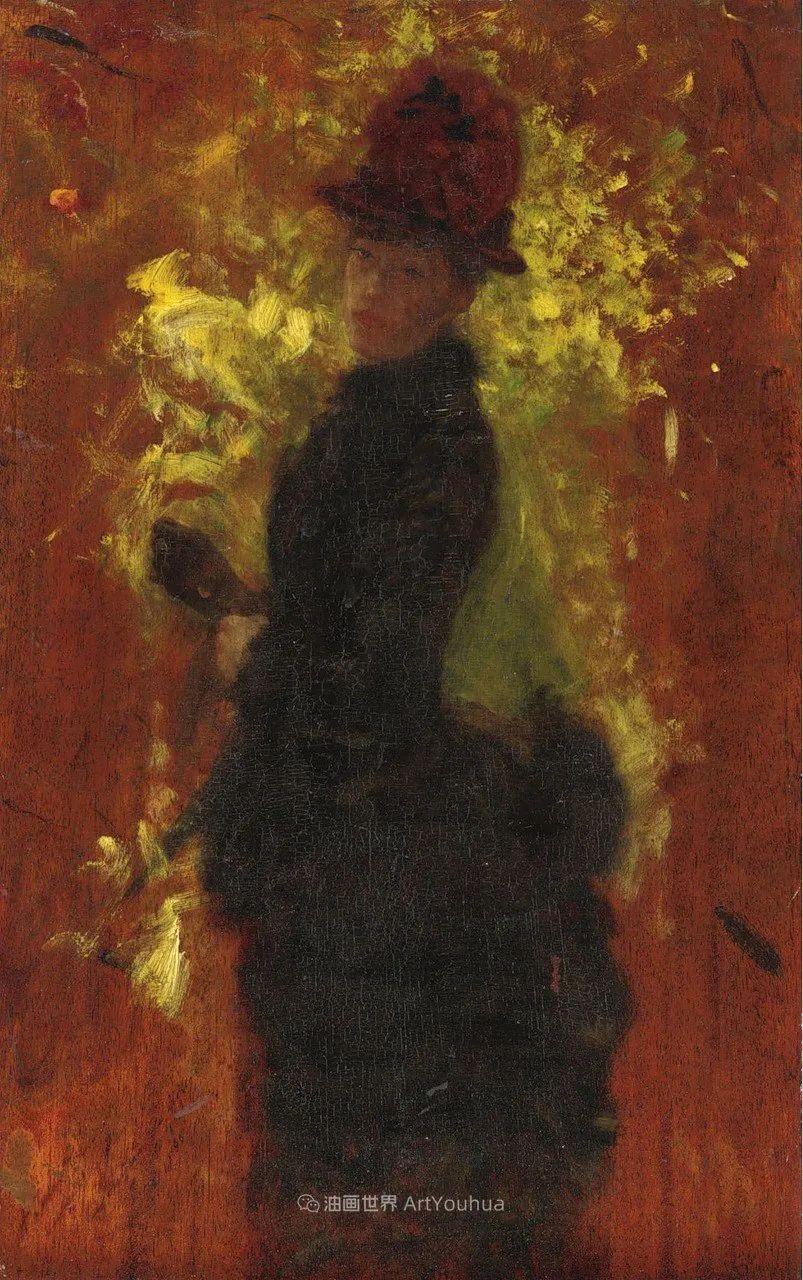 风格独特,莫名的好看,意大利画家朱塞佩·德·尼蒂斯插图91