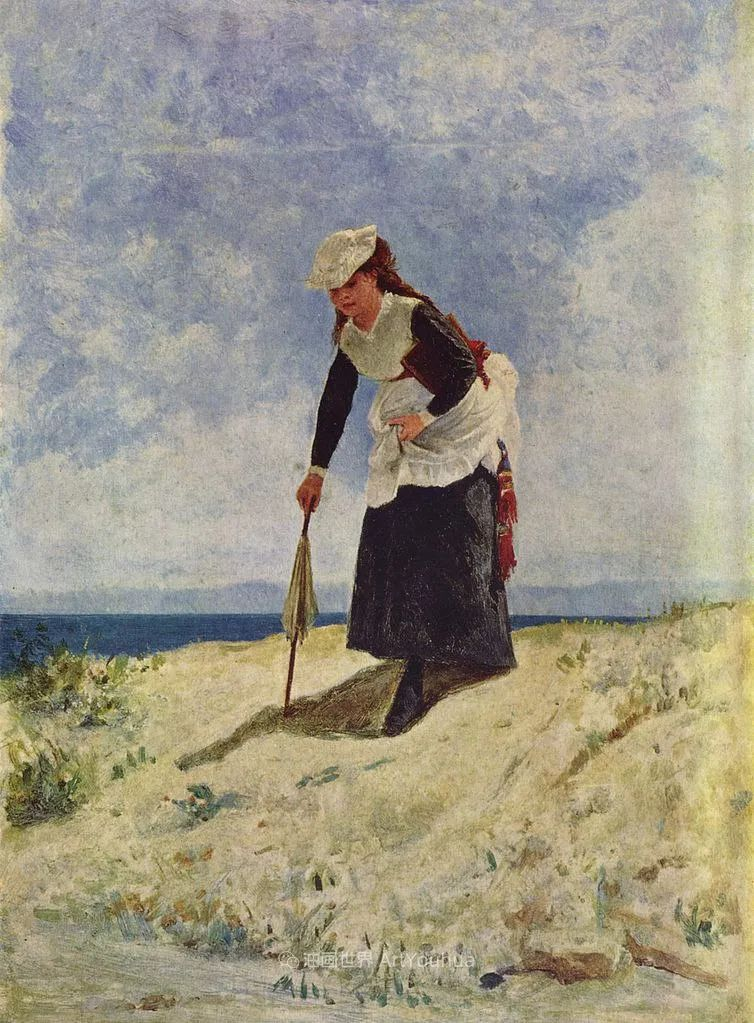 风格独特,莫名的好看,意大利画家朱塞佩·德·尼蒂斯插图95