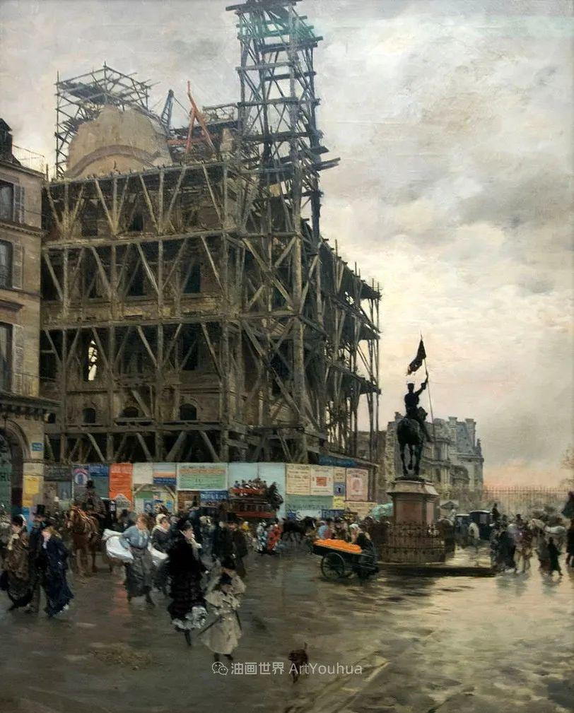 风格独特,莫名的好看,意大利画家朱塞佩·德·尼蒂斯插图97