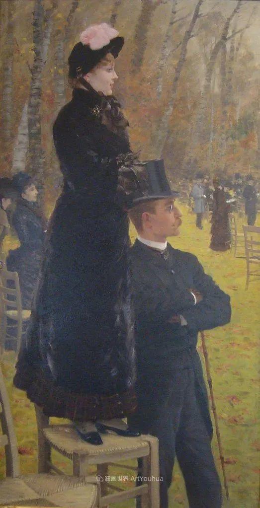 风格独特,莫名的好看,意大利画家朱塞佩·德·尼蒂斯插图117