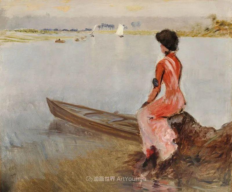 风格独特,莫名的好看,意大利画家朱塞佩·德·尼蒂斯插图119