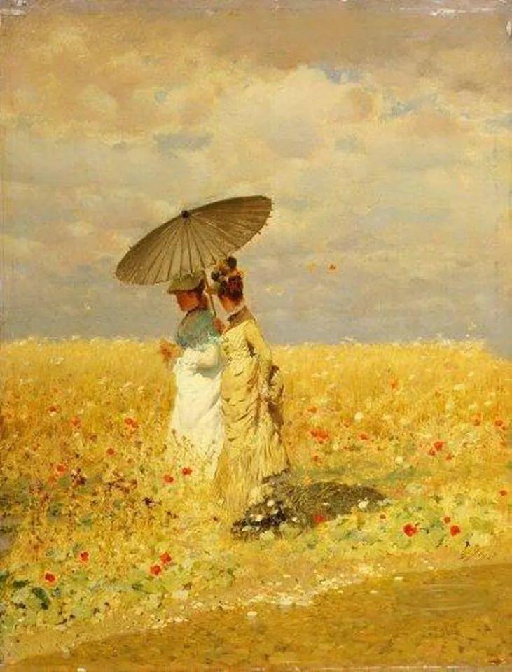 风格独特,莫名的好看,意大利画家朱塞佩·德·尼蒂斯插图127