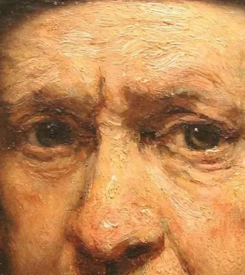 放大看伦勃朗的油画细节,真让人为之惊叹!插图7