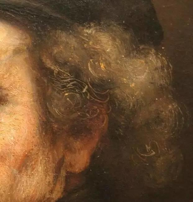 放大看伦勃朗的油画细节,真让人为之惊叹!插图9