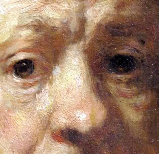 放大看伦勃朗的油画细节,真让人为之惊叹!插图19