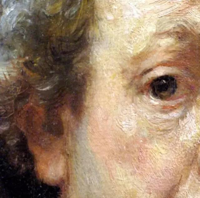 放大看伦勃朗的油画细节,真让人为之惊叹!插图21