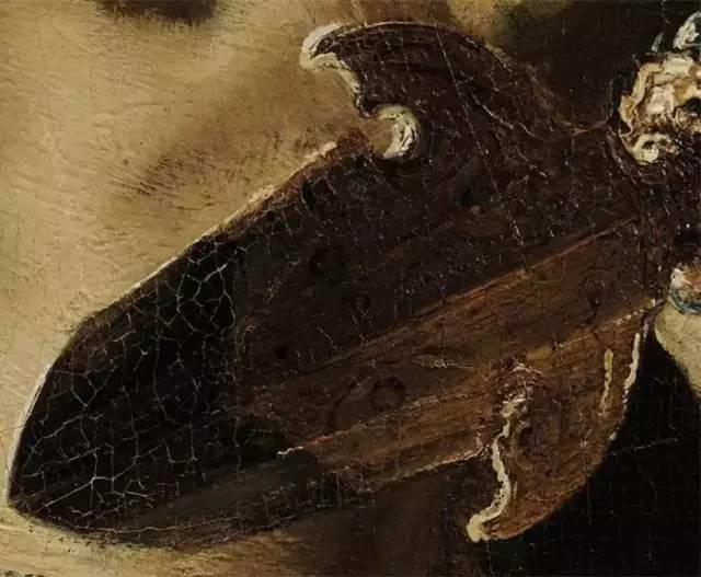 放大看伦勃朗的油画细节,真让人为之惊叹!插图49