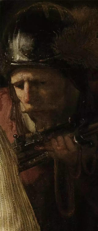 放大看伦勃朗的油画细节,真让人为之惊叹!插图65
