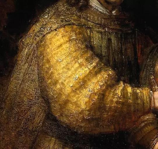 放大看伦勃朗的油画细节,真让人为之惊叹!插图139