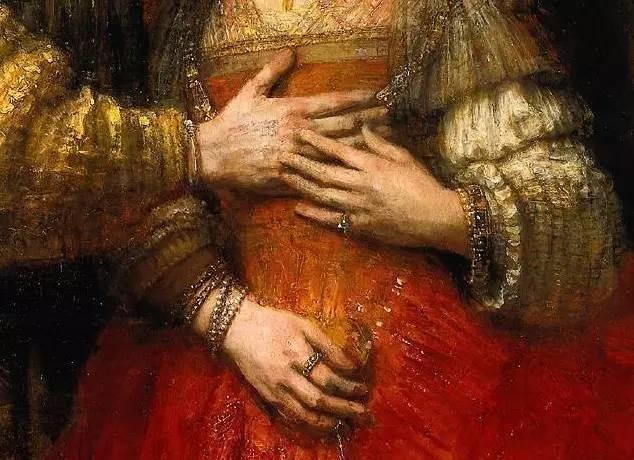 放大看伦勃朗的油画细节,真让人为之惊叹!插图145