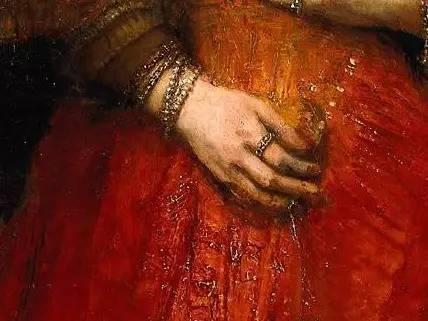 放大看伦勃朗的油画细节,真让人为之惊叹!插图147