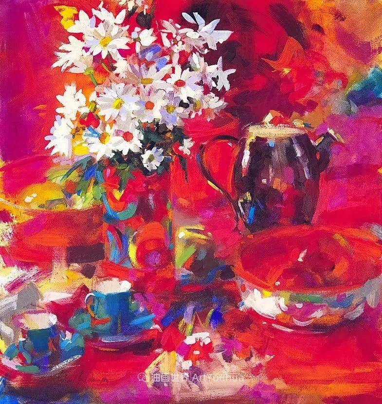 一场色彩的盛宴,英国画家Peter Graham插图1