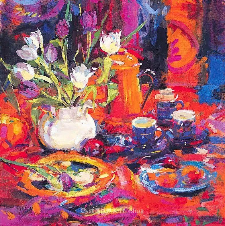 一场色彩的盛宴,英国画家Peter Graham插图3