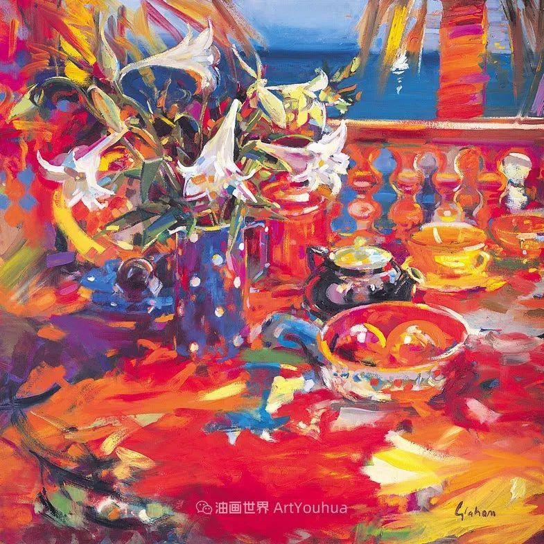 一场色彩的盛宴,英国画家Peter Graham插图7