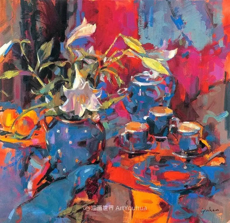 一场色彩的盛宴,英国画家Peter Graham插图9