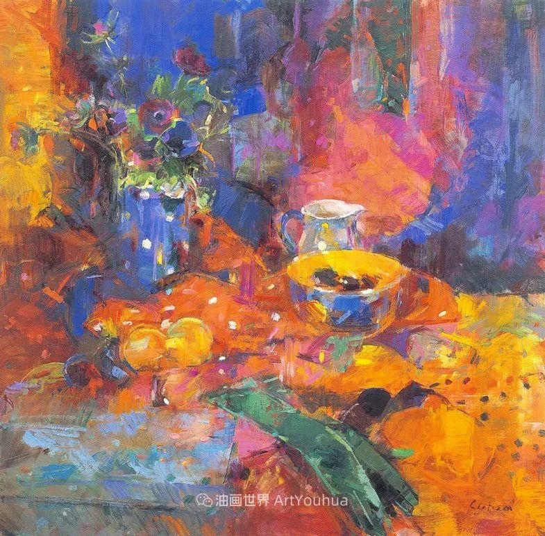 一场色彩的盛宴,英国画家Peter Graham插图13