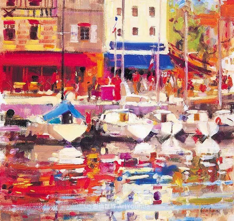 一场色彩的盛宴,英国画家Peter Graham插图15