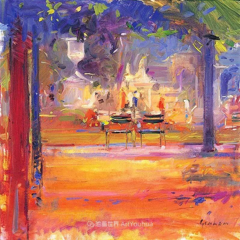 一场色彩的盛宴,英国画家Peter Graham插图27