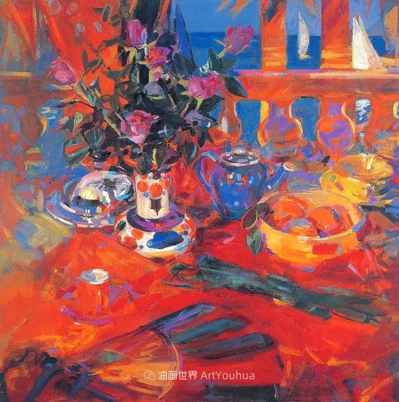 一场色彩的盛宴,英国画家Peter Graham插图29