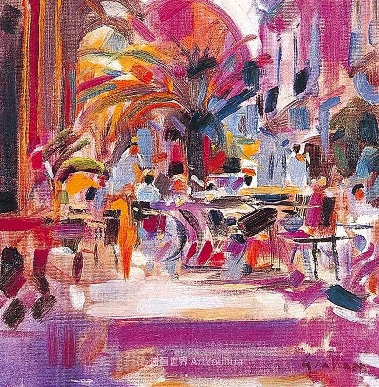一场色彩的盛宴,英国画家Peter Graham插图43