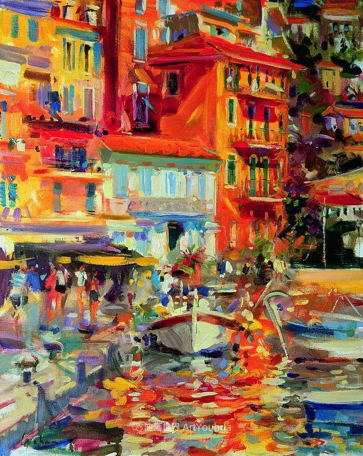 一场色彩的盛宴,英国画家Peter Graham插图45