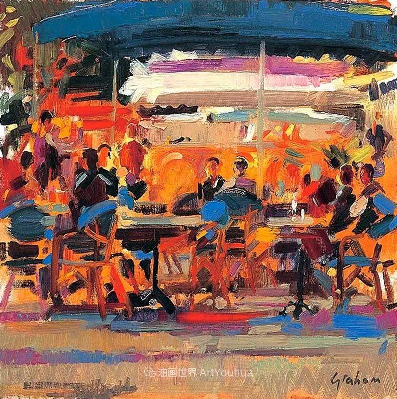一场色彩的盛宴,英国画家Peter Graham插图47