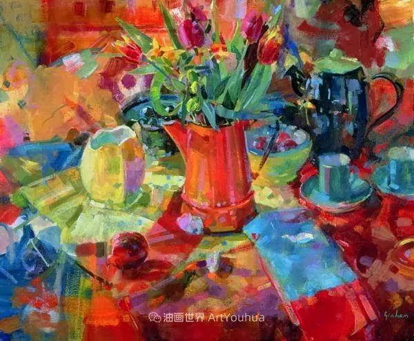 一场色彩的盛宴,英国画家Peter Graham插图51