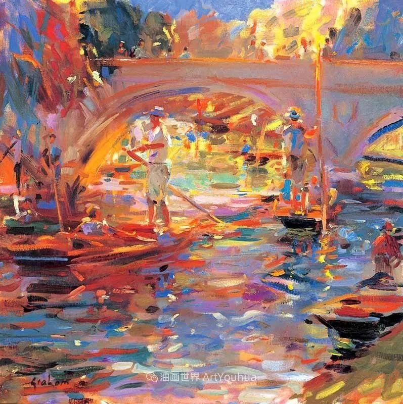 一场色彩的盛宴,英国画家Peter Graham插图57