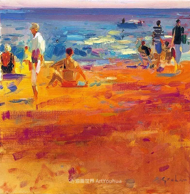 一场色彩的盛宴,英国画家Peter Graham插图65
