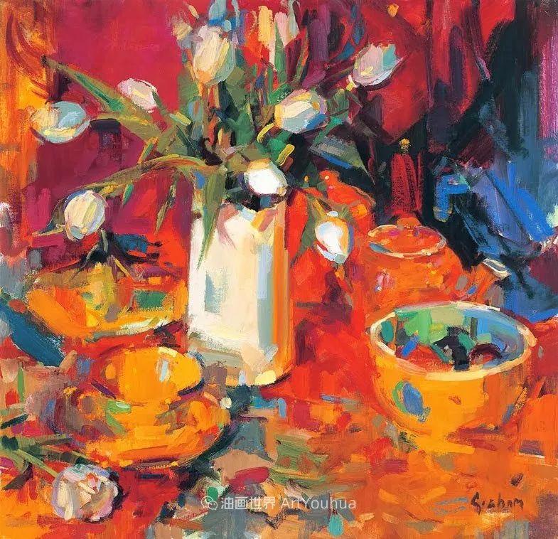 一场色彩的盛宴,英国画家Peter Graham插图67